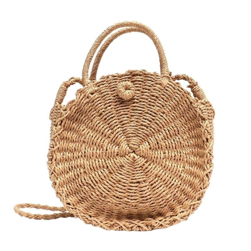 Cheap oversized straw beach bag