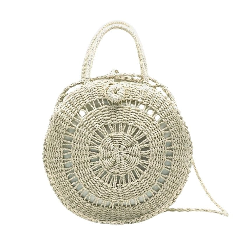 Solid straw woven bag better