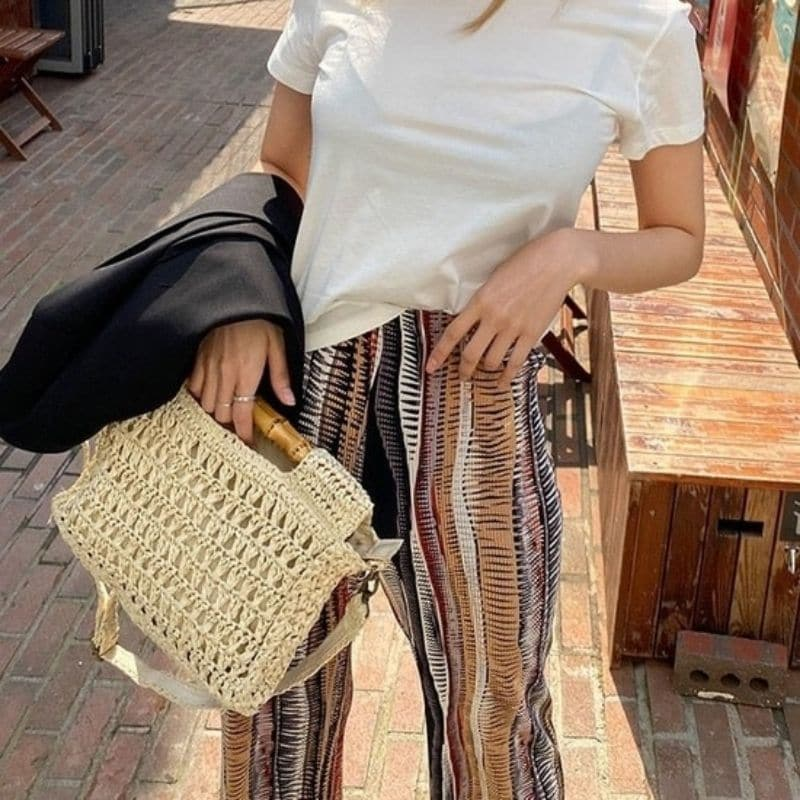 Which round straw bags in bali good