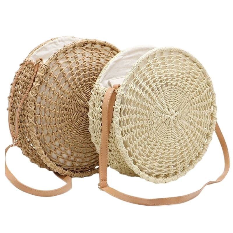 How straw crossbody bag online quality