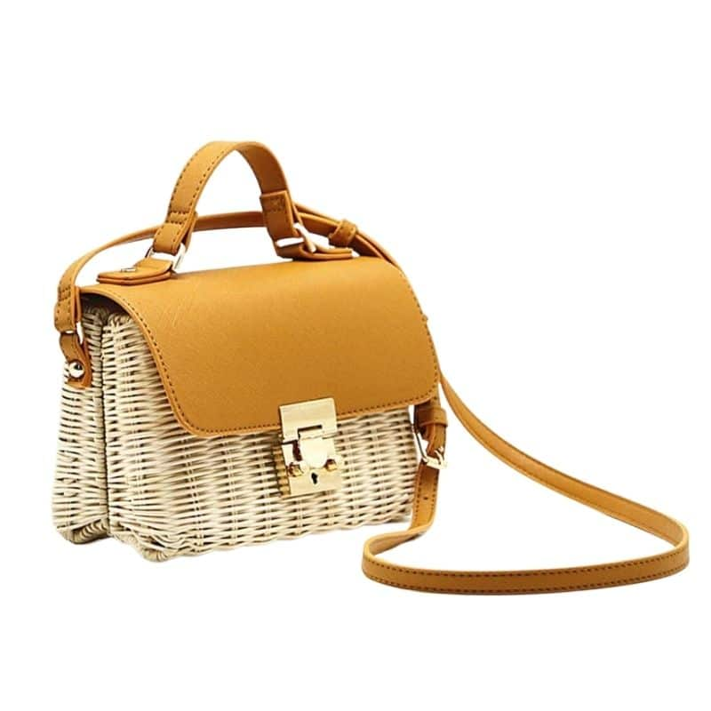 How wicker purse and clutches value