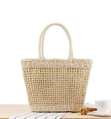 Straw bags fashion quality