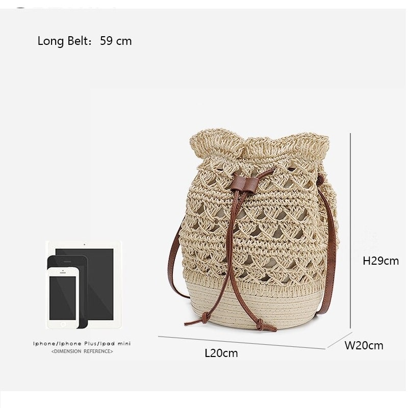 Why circular woven leather bag better