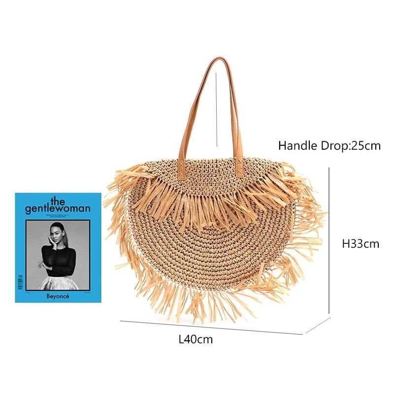 Which wicker purses handmade top