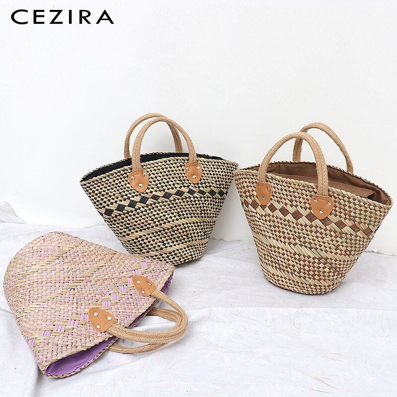 How handicaft woven leather handbag good