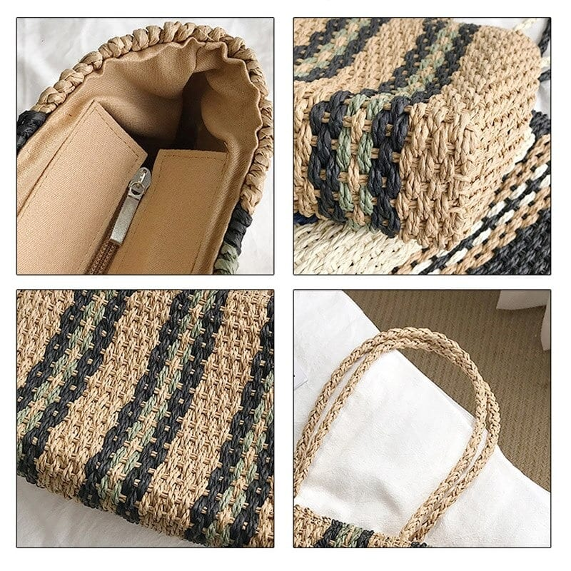 Where stripped woven bag