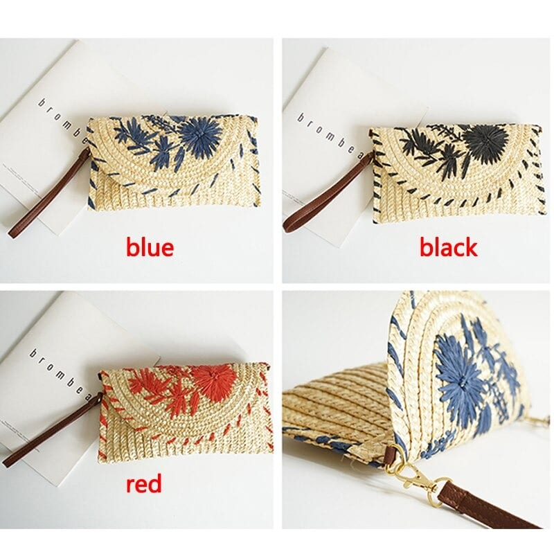 How much bamboo straw belt bag