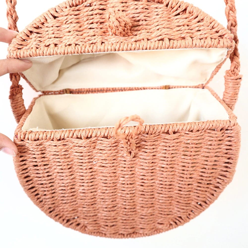 What cute woven bags