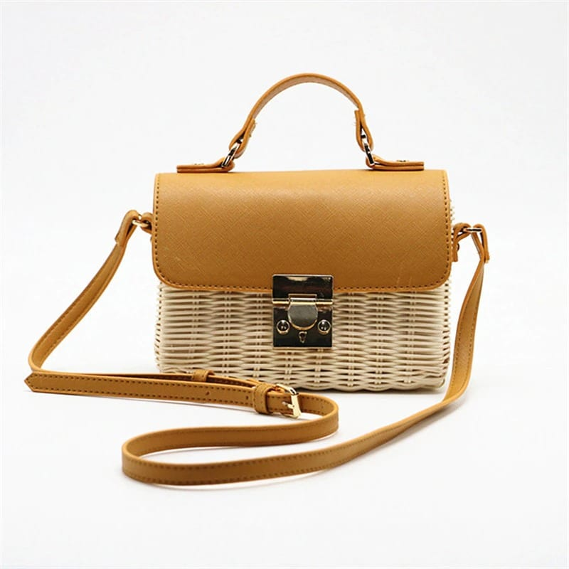 Why rattan and straw tote