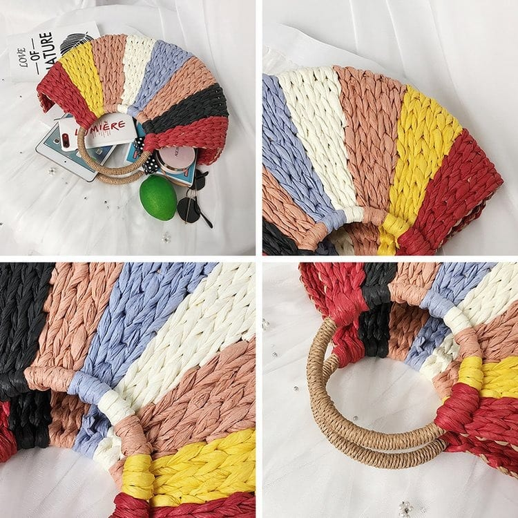 Where woven clutch bali