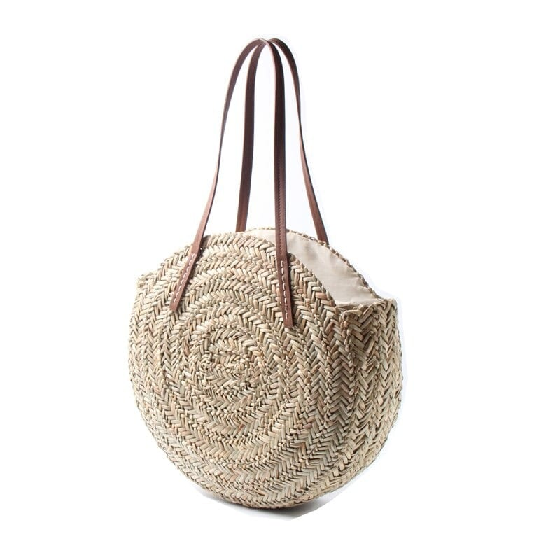 How much black straw purses in bali good