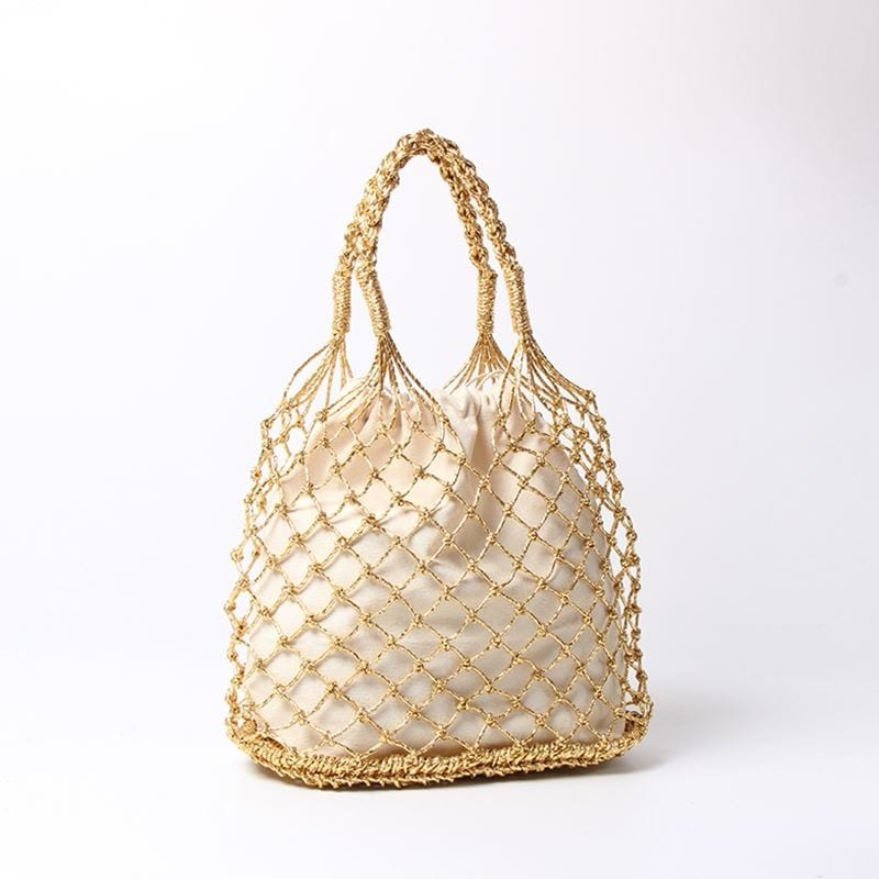 Why circle straw bags on sale