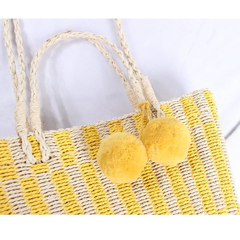 Rattan and straw crossbody bag 2021