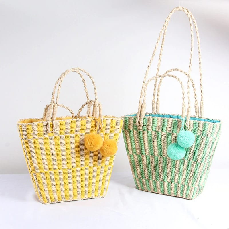 Which cute straw beach bags quality