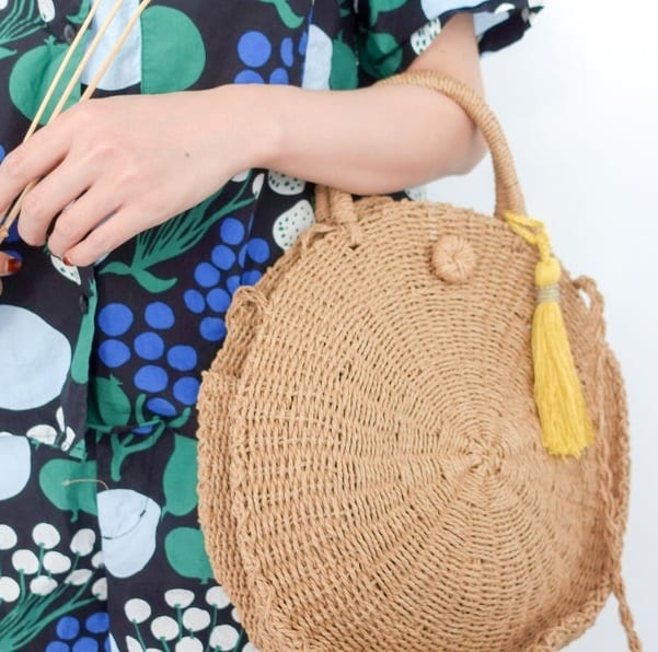How long straw tote beach bags online shop