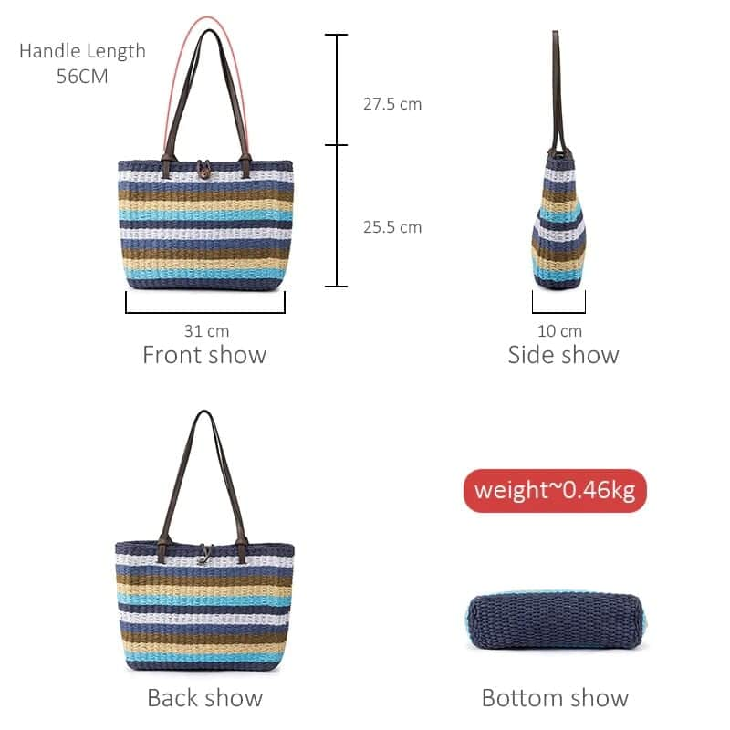 Where sustainable woven totes best