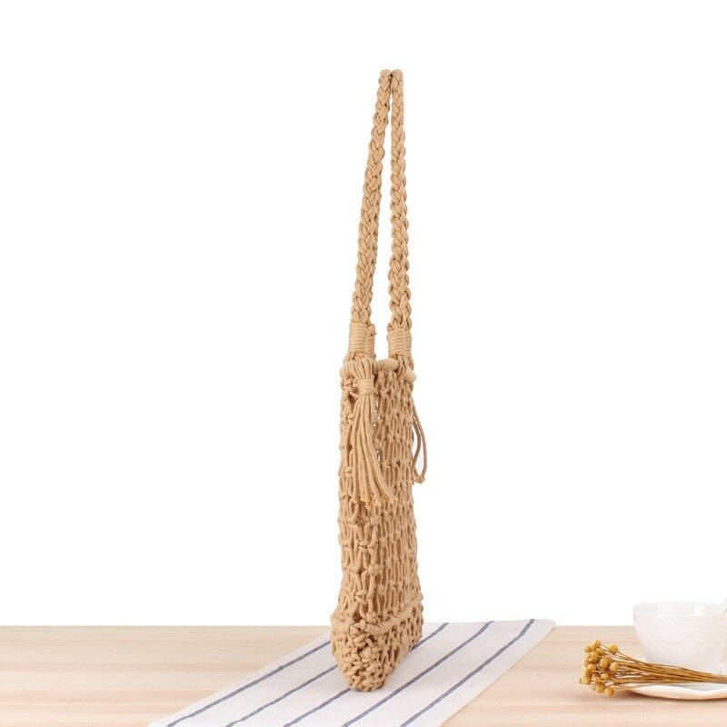 How much straw bag with leather handless in bali premium