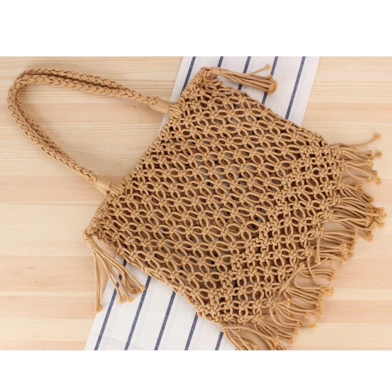 Knitted woven purse best