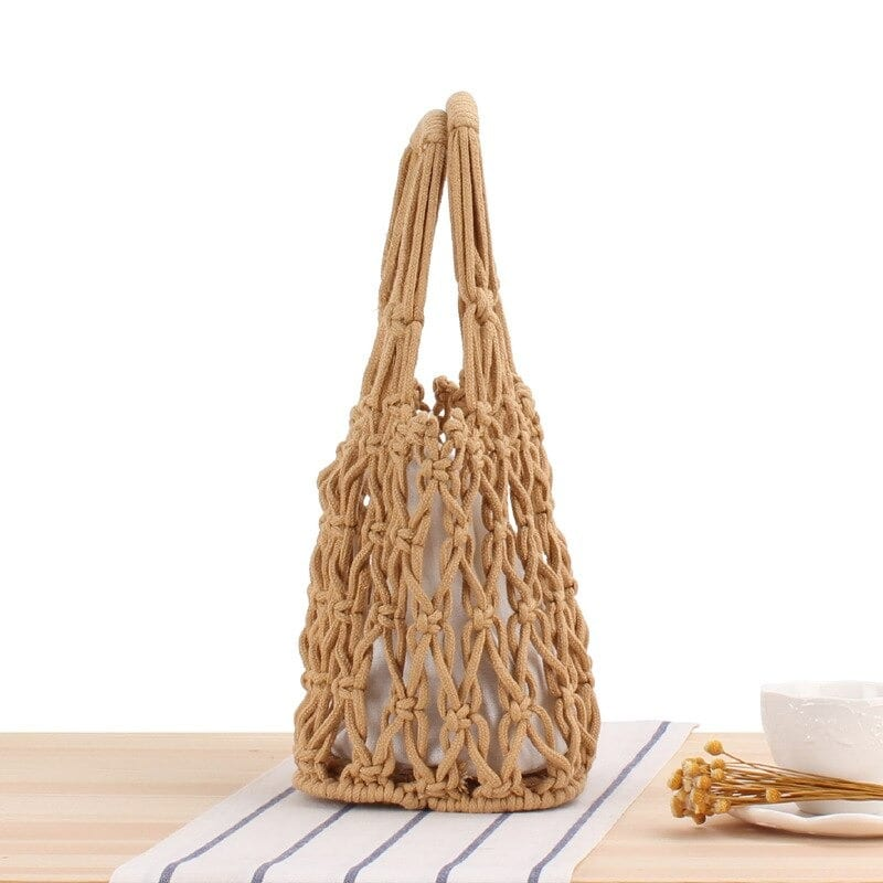 Vacation straw purse