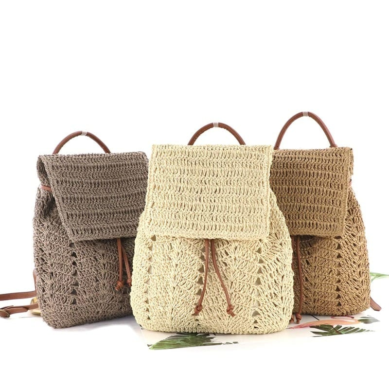 Straw woven bag and clutches better