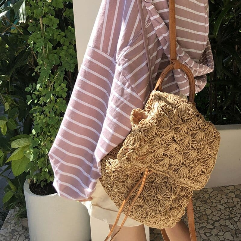 Sale summer straw purse good