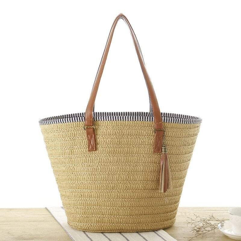 How much straw woven bags made in bali
