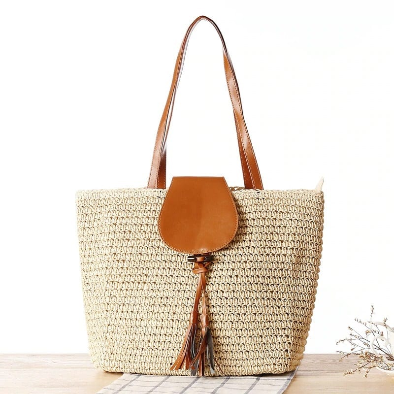 Why travel straw market bag good