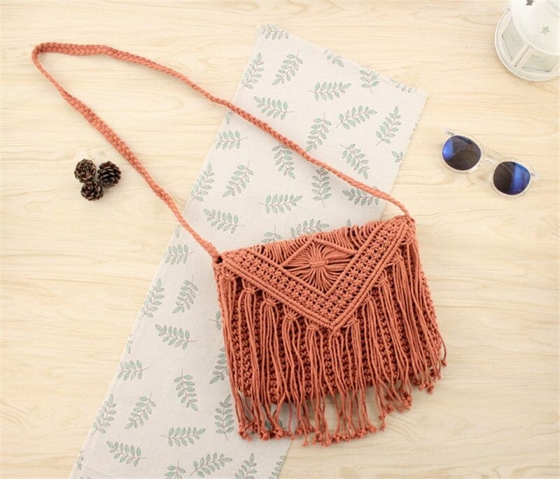Straw crossbody bags beach top