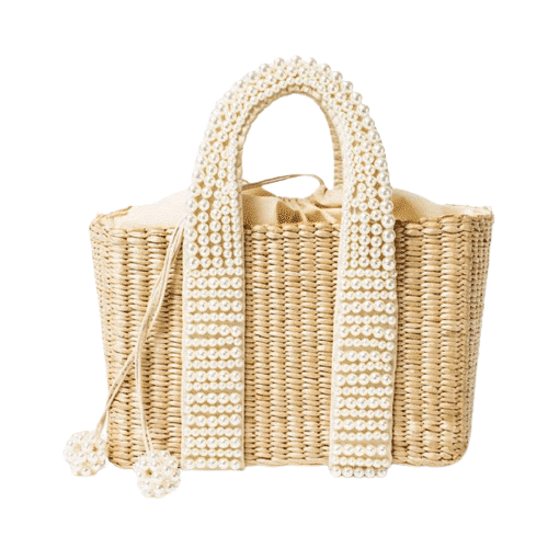 Which circle straw bag large good