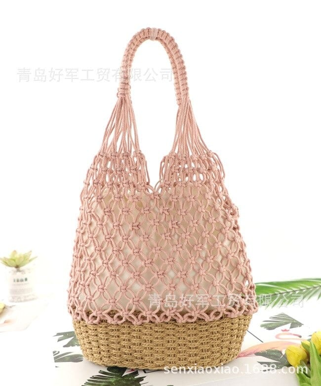 How many round straw crossbody bags and totes good