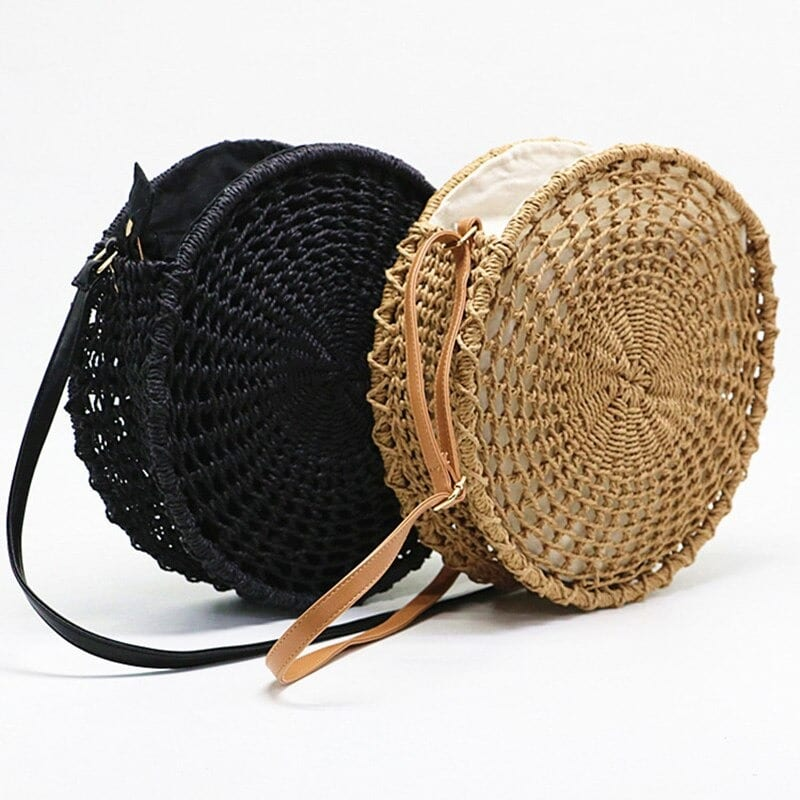 Handicaft woven beach bag
