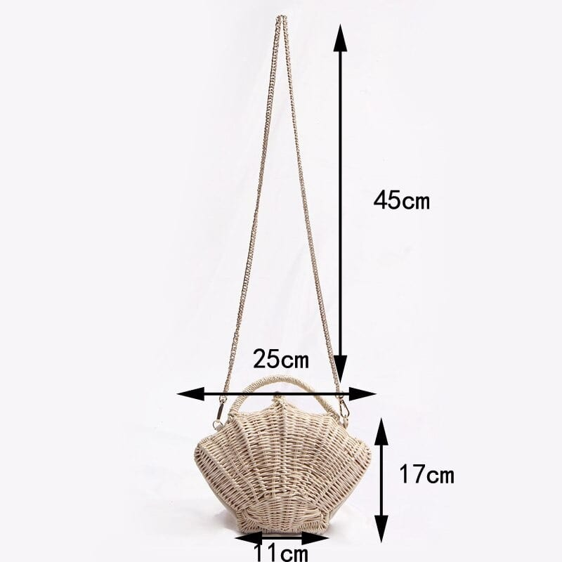 Why party rattan crossbody bag good