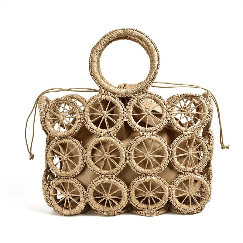 How much circular rattan purse
