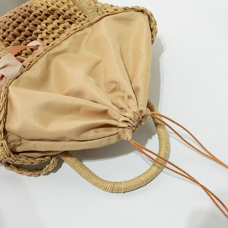 Crossbody straw handbag for summer better