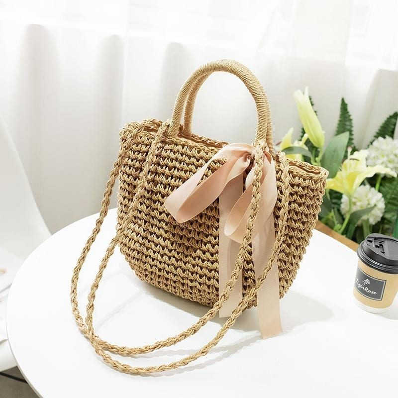 Why sustainable woven beach bag