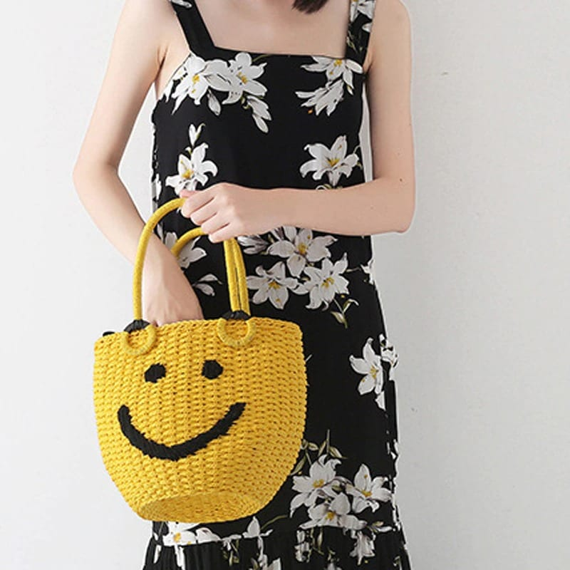 Party circle straw bag quality