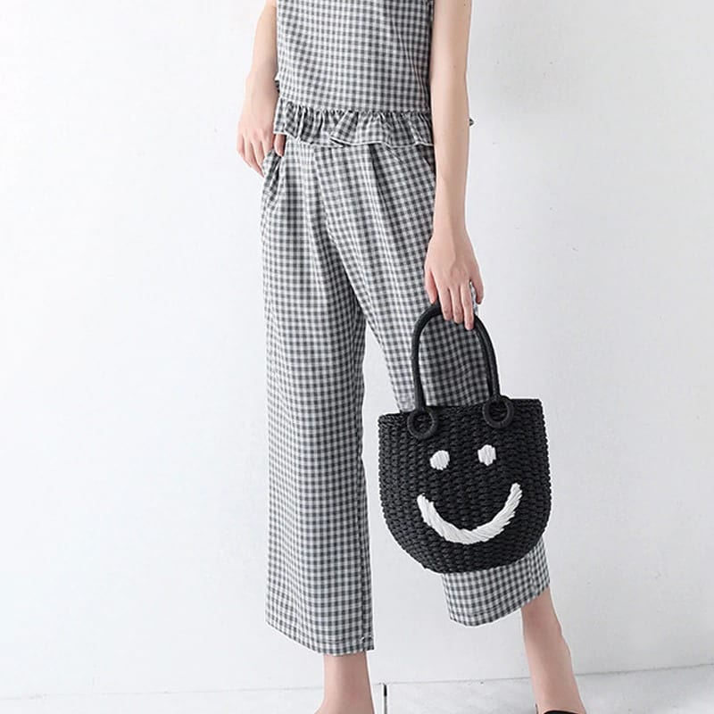 Sale small straw bag value