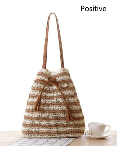 Where casual round rattan bag better