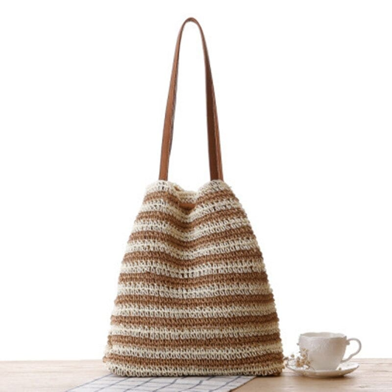Round straw crossbody bag with zipper recomment