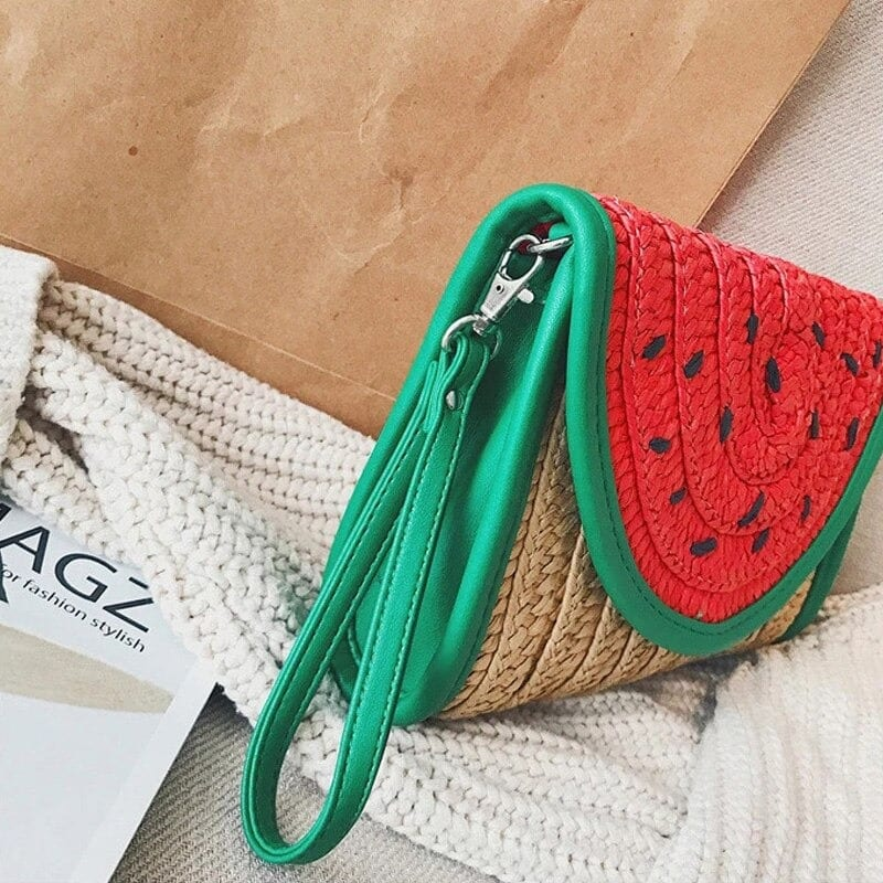 Why rattan straw belt bags 2021