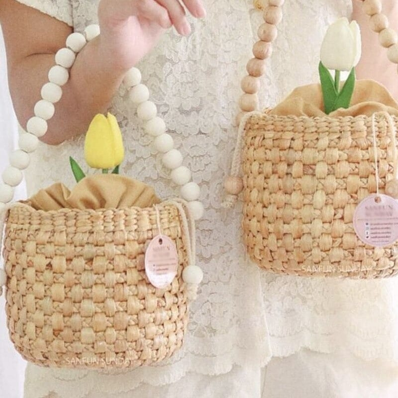 When straw bags for summer bali suggest