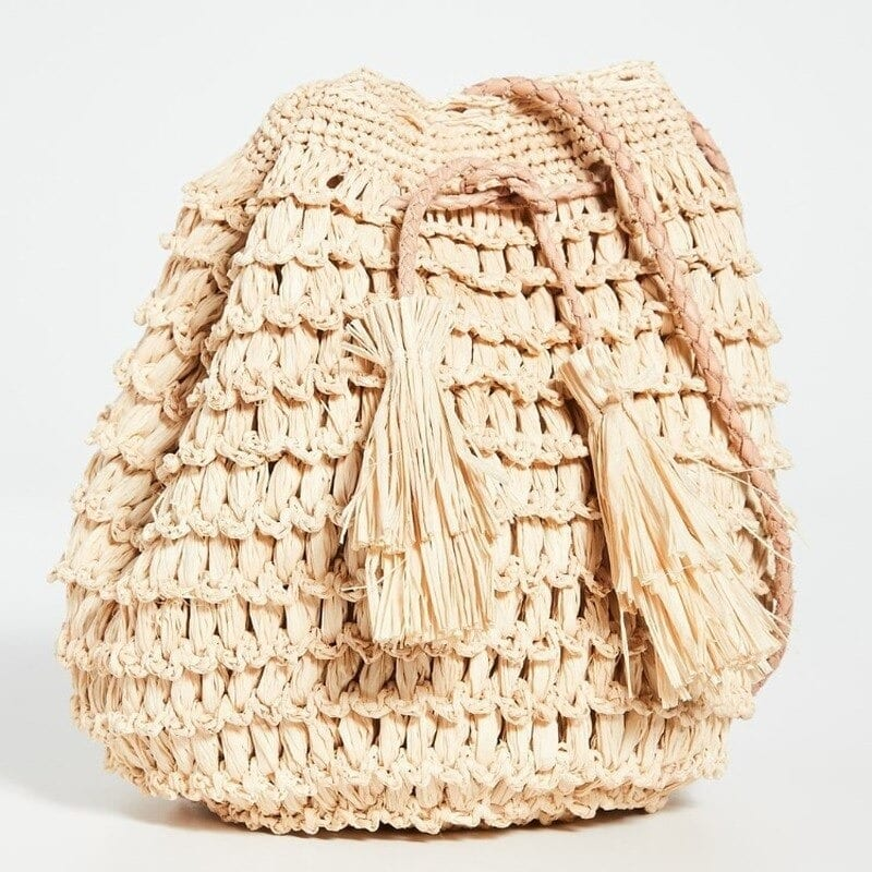 Extra large woven backpack good