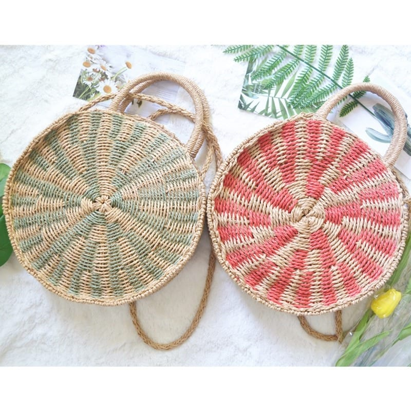 Straw woven bag trend value