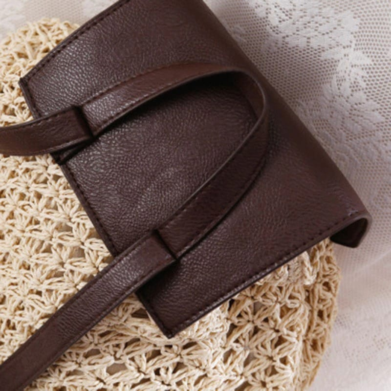 Evening straw bag