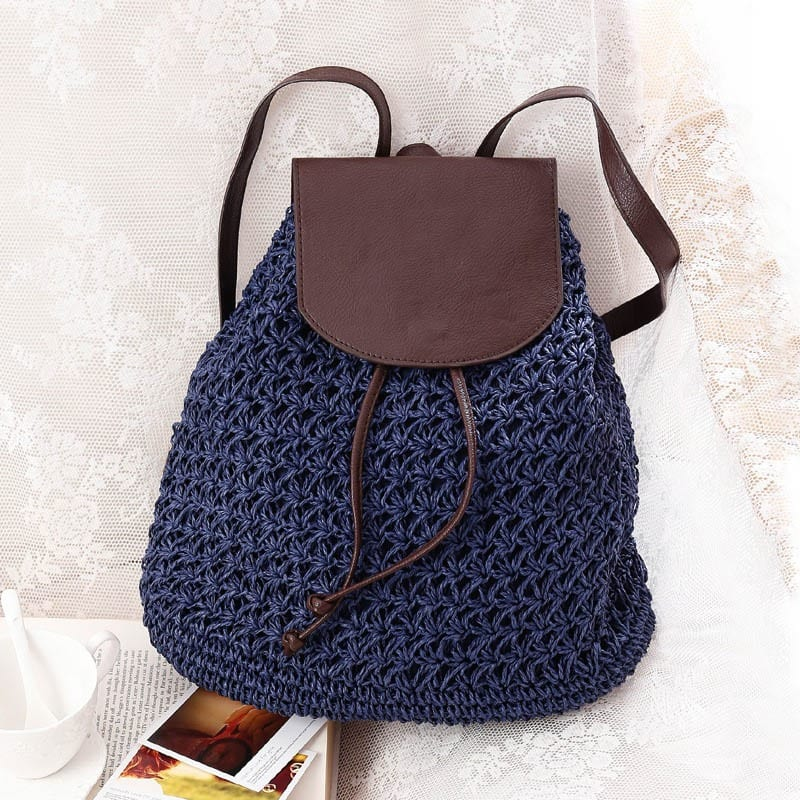 Handicraft summer straw bags 2021