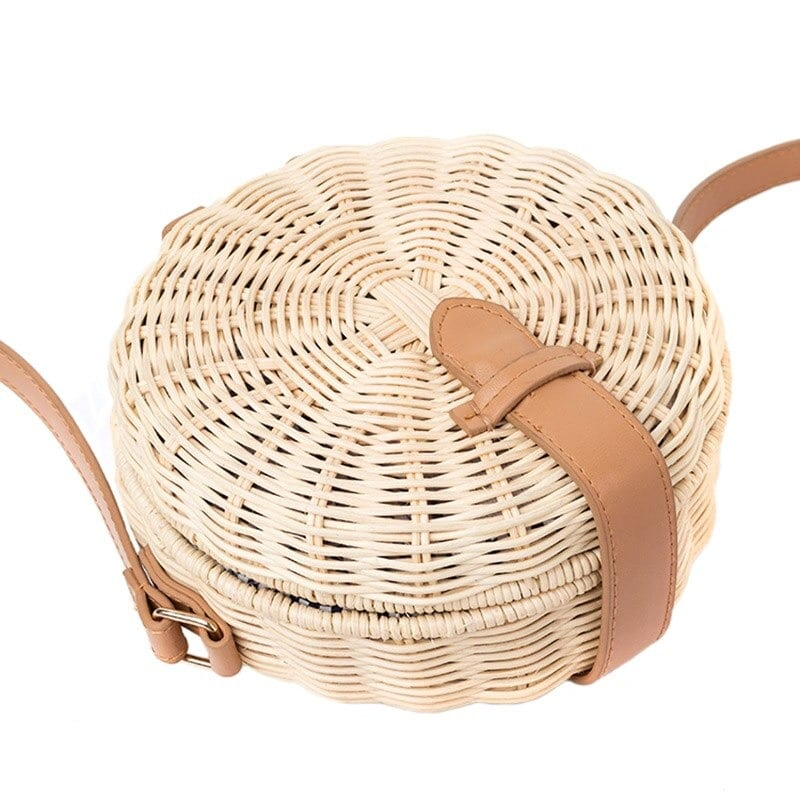 Straw beach tote sale value