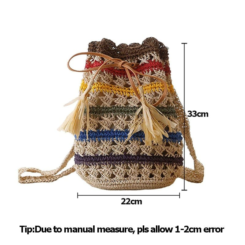 How much sustainable straw belt bag value