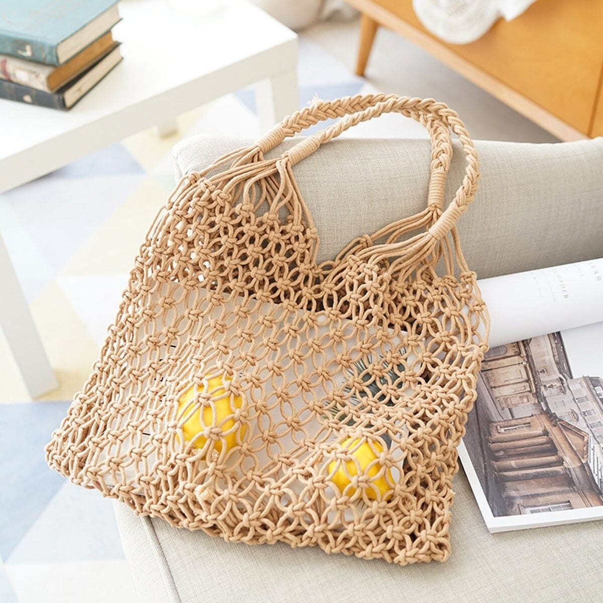 How many rattan tote bags made in bali top