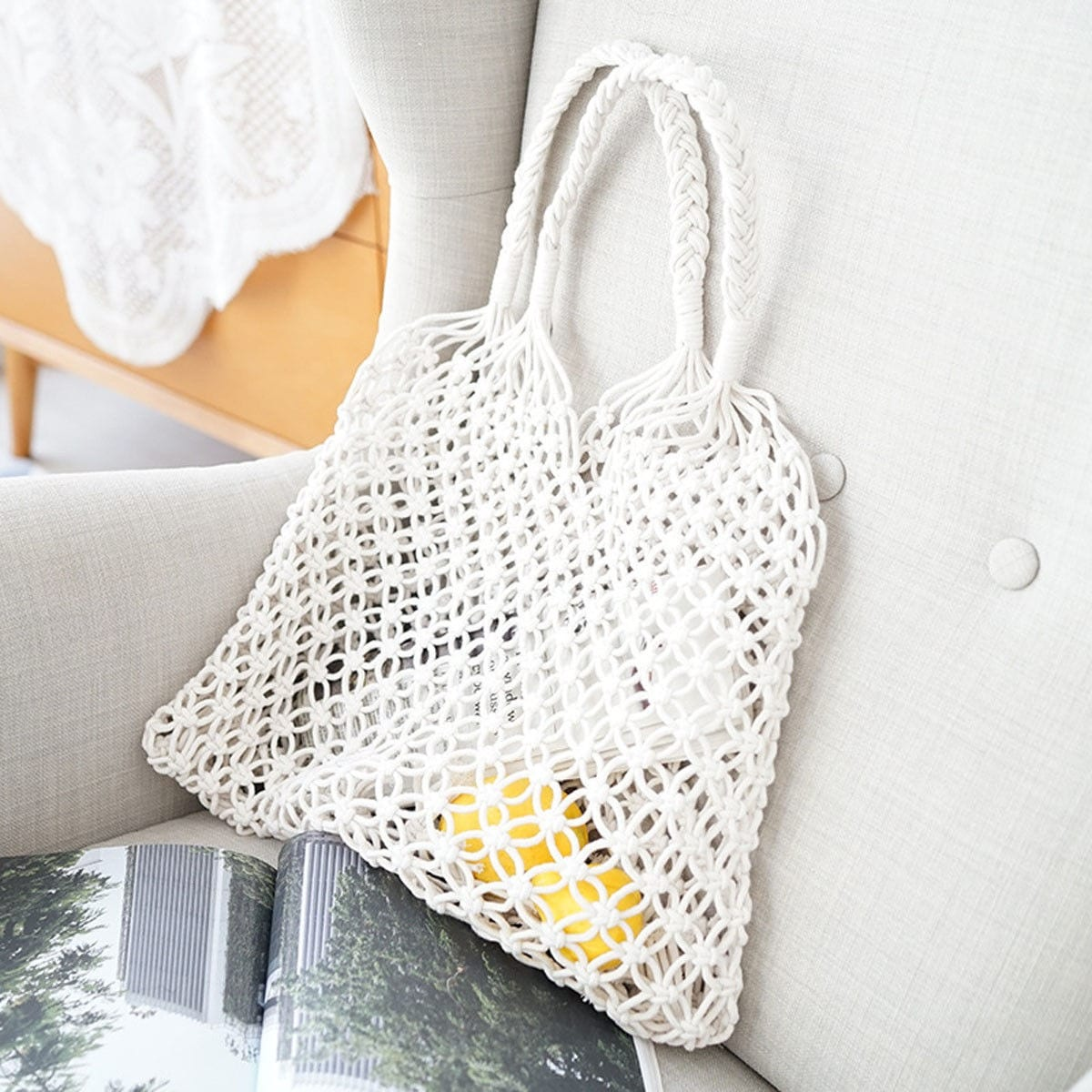 Circle straw bag and clutches