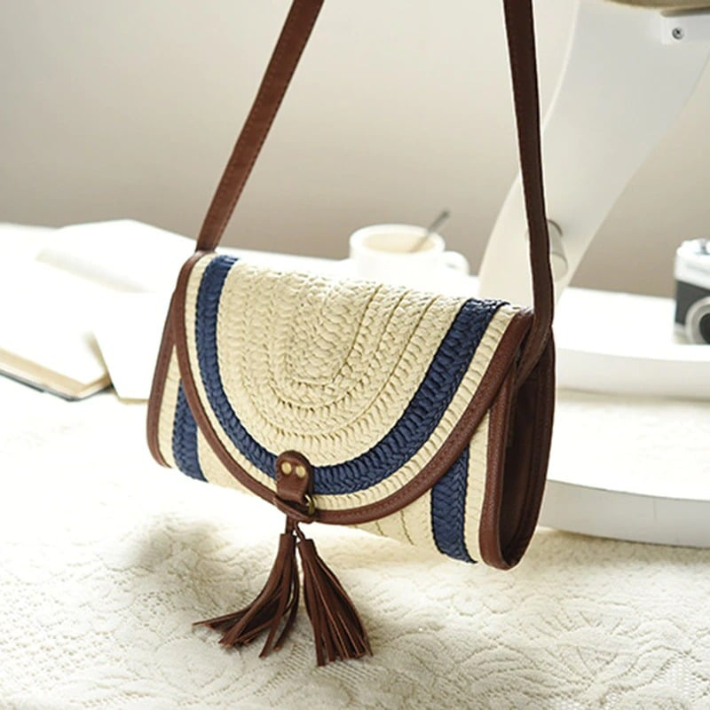 How luxury round straw bag 2021